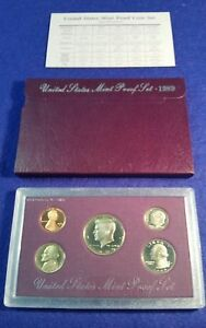US MINT PROOF SET   1989