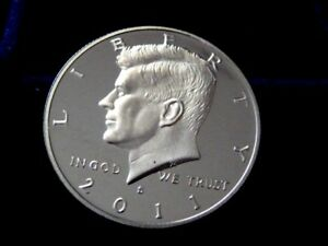 2011 S KENNEDY HALF DOLLAR FROM US PROOF SET  NOT ROLL  I 20 18