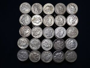 Click now to see the BUY IT NOW Price! 1 000 PIECES BAG 1878 1904 MORGAN SILVER DOLLARS VF XF PRE 1921