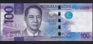 Click now to see the BUY IT NOW Price! PHILIPPINE ERROR 100 PESOS NGC FANCY NUMBER SN GK 150000 UNCIRCULATED BANKNOTE