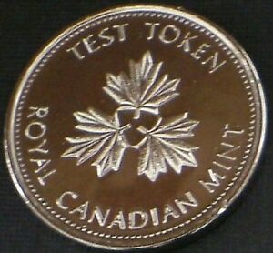 2004 2006 CANADIAN NICKEL 5 CENT TEST TOKEN  SUPER