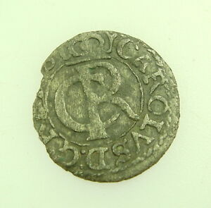 MEDIEVAL LIVONIA RIGA SHILLING SOLID COIN ORIGINAL UNCEAN CONDITION NR. 9346