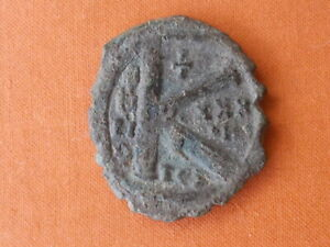 BYZANTINE COIN TO IDENTIFY 22 MM   5.1GRAMS