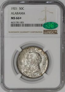 Click now to see the BUY IT NOW Price! 1921 ALABAMA 50C  MS66  NGC   CAC   941303 17