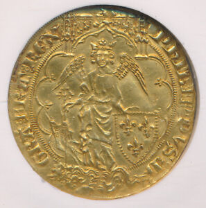 Click now to see the BUY IT NOW Price! FRANCE GOLD ANGE D'OR 1328 50 FR273 PHILIPPE VI    NGC AU 55