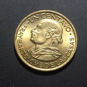 OLD FOREIGN WORLD COIN: 1970 GUATEMALA 1 CENTAVO