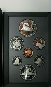 1986 CANADA PROOF SET     DOUBLE DOLLAR SET     VANCOUVER    BOX AND COA