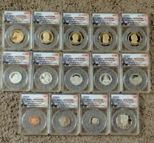 Click now to see the BUY IT NOW Price! 2012 S SILVER PROOF SET 14 COINS ANACS PR70DCAM FIRST STRIKE MATCHING NUMBERS