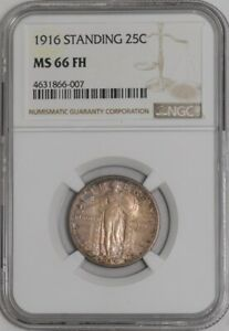 Click now to see the BUY IT NOW Price! 1916 STANDING LIBERTY QUARTER 25C 941572 1 MS66 FH NGC