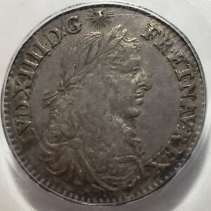Click now to see the BUY IT NOW Price! FRENCH COLONIES 5 SOLS 1670 A. PARIS MINT PCGS AU53