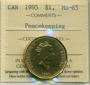 Click now to see the BUY IT NOW Price! 1995 CANADA LOON DOLLAR