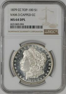 Click now to see the BUY IT NOW Price! 1879 CC MORGAN DOLLAR $ VAM 3 CAPPED CC 941230 13 MS64 DPL DMPL NGC