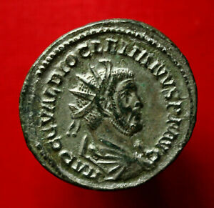 Click now to see the BUY IT NOW Price! GENUINE ROMAN COIN DIOCLETIAN ANTONINIANUS LYONS 286AD