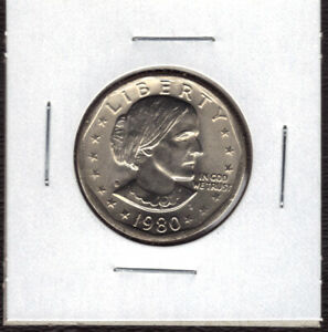 1980 S UNCIRCULATED  SUSAN B ANTHONY DOLLAR  S.B.A.