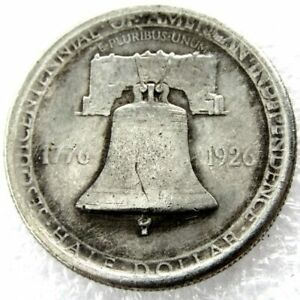 1926 SESQUICENTENNIAL COMMEMORATIVE HALF DOLLARS SILVER PLATED COINS