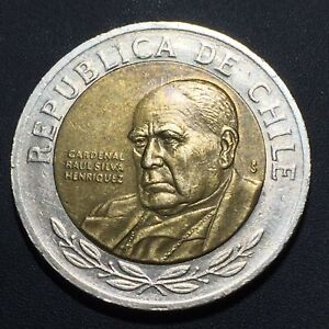 OLD WORLD COIN: 2003 CHILE 500 PESOS CHECK OUT MY $.99 AUCTIONS