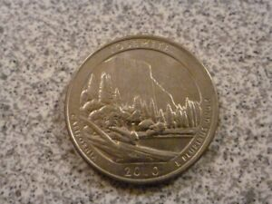 2010 D  UNCIRCULATED  YOSEMITE; CALIFORNIA ATB QUARTER US QUARTER DOLLAR