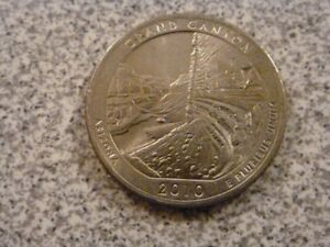 2010 D  UNCIRCULATED  GRAND CANYON; ARIZONA ATB QUARTER US QUARTER DOLLAR