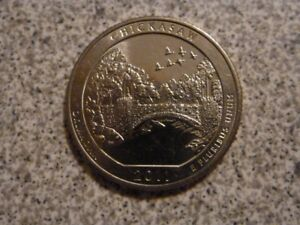 2011 D  UNCIRCULATED  CHICKASAW; OKLAHOMA ATB QUARTER US QUARTER DOLLAR