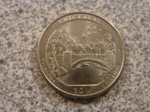 2011 P  UNCIRCULATED  CHICKASAW; OKLAHOMA ATB QUARTER US QUARTER DOLLAR