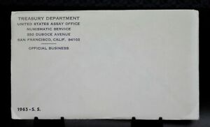SEALED 1965 SMS UNITED STATES MINT ENVELOPE UNCIRCULATED COIN SET [089DUD]