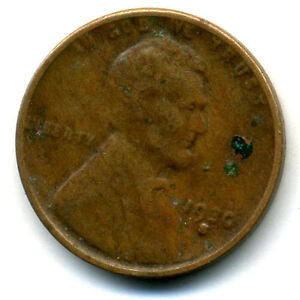 1930 S WHEAT PENNY 1 CENT KEY DATE US CIRCULATED ONE LINCOLN  CENT COIN157