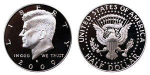 2009 S KENNEDY HALF DOLLAR PROOF 90 SILVER GEM UNCIRCULATED 50 CENT PF COIN1389