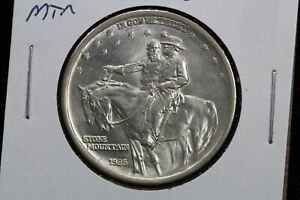 1925 STONE MOUNTAIN STONEWALL JACKSON ROBERT E LEE HALF DOLLAR 92GU