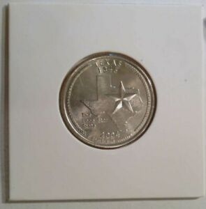 2004 D TEXAS STATE  TX  QUARTER UNCIRCULATED FROM BANK ROLLS  STATE QUARTERS
