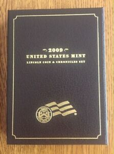 2009 LINCOLN COIN AND CHRONICLES SET  U.S. MINT PERFECT CONDITION