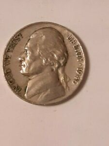 1946 P JEFFERSON NICKLE UNGRADED UNCERTIFIED CIRCULATED