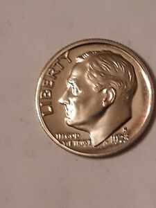 1973 S ROOSEVELT MINT DIME UNGRADED UNCIRCULATED
