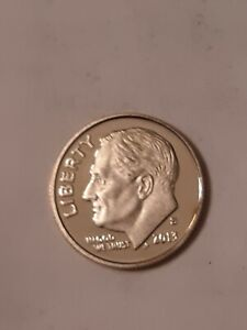 1913 S ROOOSEVELT MINT DIME UNGRADED UNCIRCULATED
