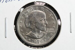 1979 P SUSAN B ANTHONY DOLLAR NEAR DATE WIDE RIM ERROR 9AXZ