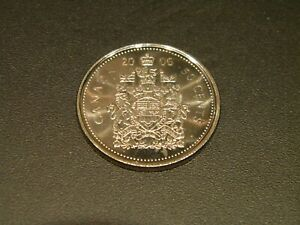 2006 CANADA HALF DOLLAR $1 FIFTY CENT 50C PIECE COIN NEW FROM MINT ROLL