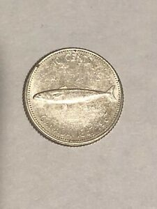 1967   CANADA SILVER DIME   CANADIAN 10 CENT COIN