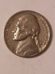 1956 D JEFFERSON NICKLE UNGRADED UNCERTIFIED CIRCULATED