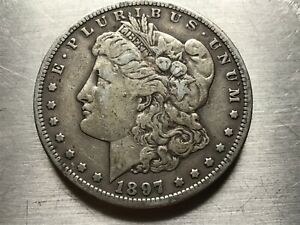 1897 S MORGAN SILVER DOLLAR BETTER DATE  MUST SEE  LOT M1855