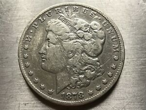1878 S MORGAN SILVER DOLLAR BETTER DATE  MUST SEE  LOT M1868