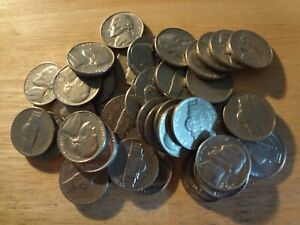 Click now to see the BUY IT NOW Price! FULL ROLL 1970 S JEFFERSON NICKELS  AVG. CIRCULATED  40 COINS