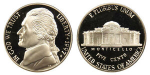 1997 S GEM BU PROOF JEFFERSON NICKEL 5 CENT BRILLIANT UNCIRCULATED US COIN PF