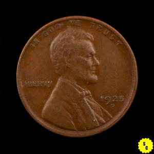 1925 D LINCOLN WHEAT CENT CHOICE XF CONDITION NICE BETTER DATE  PENNY