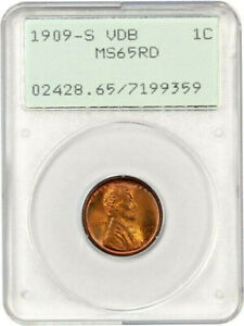 Click now to see the BUY IT NOW Price! 1909 S VDB   PCGS MS65 RD RED