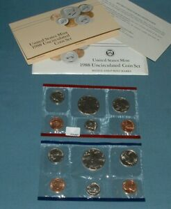 1988 U.S. MINT SET   10 COINS
