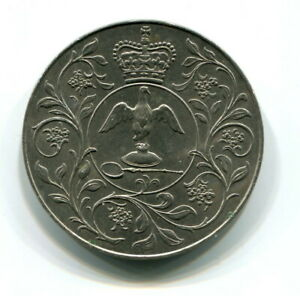 1977 GREAT BRITAIN CROWN COIN