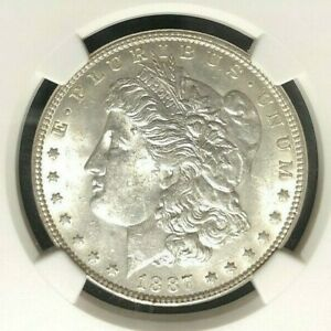 Click now to see the BUY IT NOW Price! 1887 VAM 25A NGC MS 61 MORGAN SILVER DOLLAR GENE L HENRY LEGACY COLLECTION