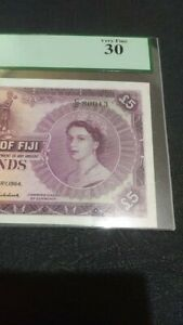 Click now to see the BUY IT NOW Price! GOVERNMENT OF FIJI 5 BANKNOTE 1964 PCGS 30. 54E
