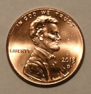 2013 D LINCOLN SHIELD CENT BU UNCIRCULATED
