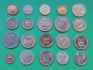 LOT OF 20 WORLD COINS // COMBINE SHIPPING