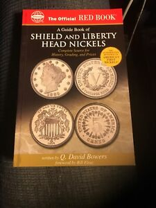 A REDBOOK GUIDE TO  SHIELD & LIBERTY HEAD NICKELS 1866 TO 1913 NEW&UNUSED C.2015